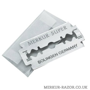 Merkur Stainless Platinum Safety Razor Blades